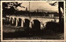 Paczków : na pierwszym planie most