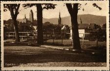 Paczków : widok na fragment miasta