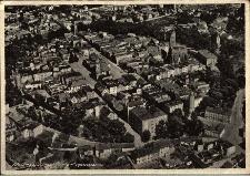 Paczków : widok miasta z lotu ptaka