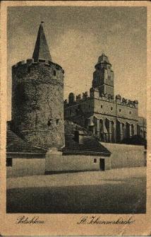 Paczków : kościół parafialny, baszta