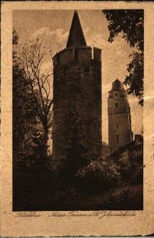 Paczków : widok na wieże