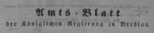 Amstblatt der Königlichen Regierung zu Breslau. Stück 39