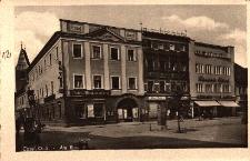 Kędzierzyn-Koźle : fragment rynku z hotelem